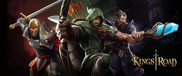 KingsRoad - Enjoy a stunning hack and slash game you can enjoy on your browser.