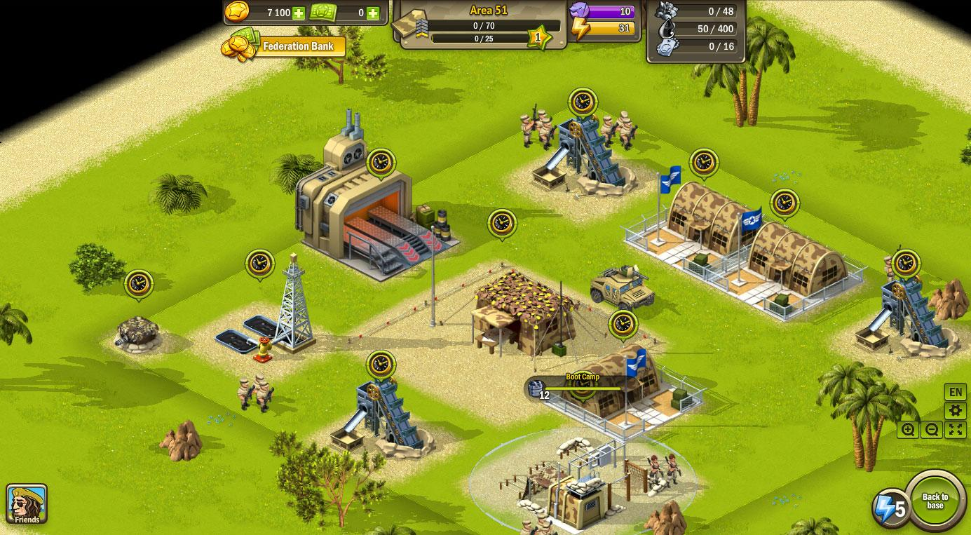 Warzone - MMO Square