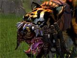 Image of a character on a mount from Age of Conan