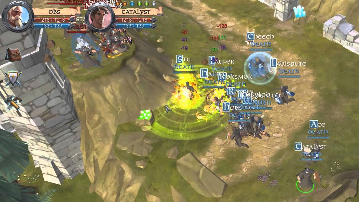Albion Online PvP Siege in Albion Online Albion Online Gameplay