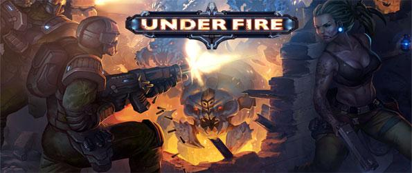 Under Fire - Stop the alien invaders from taking over your base and slaughtering your inhabitants.