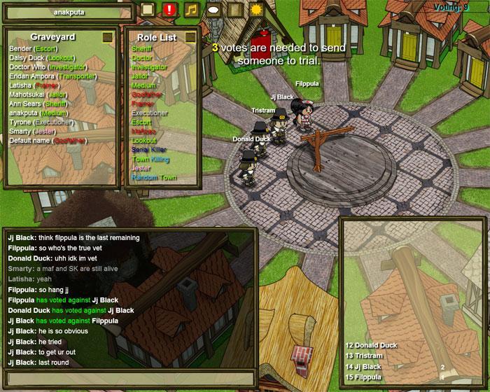 Town Of Salem Revue MMO Anlage - Minecraft murderer jetzt spielen