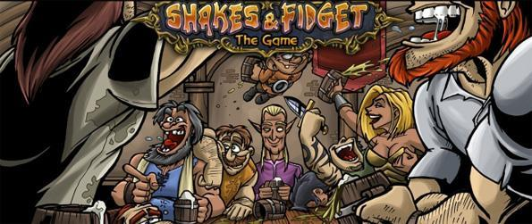 Shakes and Fidget - Join in this simple yet addictive free browser MMO, sit back and be prepared to be entertained.