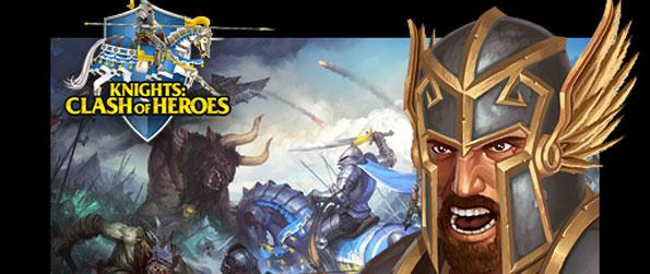 Knights Clash of Heroes - Make use of strategy and tactics in fighting battles against the undead.