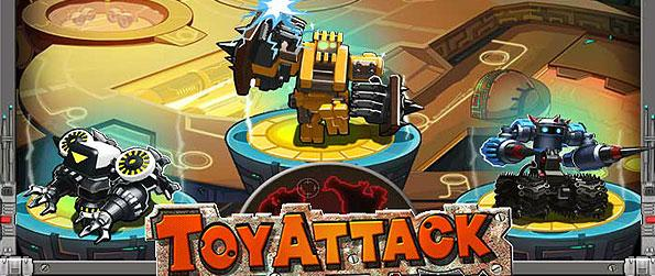 Toy Attack - You are the toy commander - tasked to lead your toy army to conquer other toy kingdoms in this frantic strategy game.