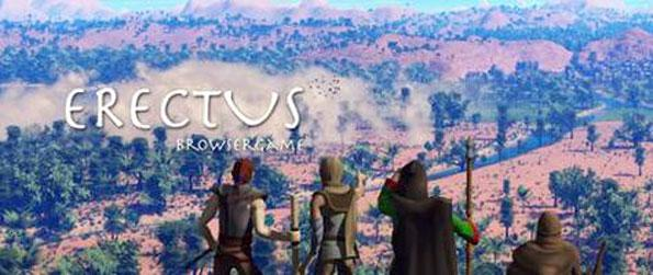 Erectus - Play as the Okiteng, the Ngane, the Ikari or the Assuna (the 4 races of Homo sapiens) and fight against the armies of the Homo erectus to ensure the survival of the human race