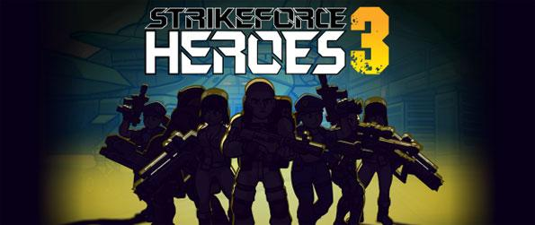 Strike Force Heroes 3 - Assemble a team, and complete various missions across many different locations