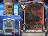 Star Crusade playing a card