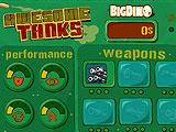 Tank Upgrades in Awesome Tanks