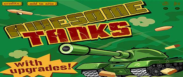 Awesome Tanks - Gear up as for some heavy artillery action in this frantic tank battle game in Facebook, Awesome Tanks.