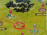 Vikings: War of Clans launching an attack