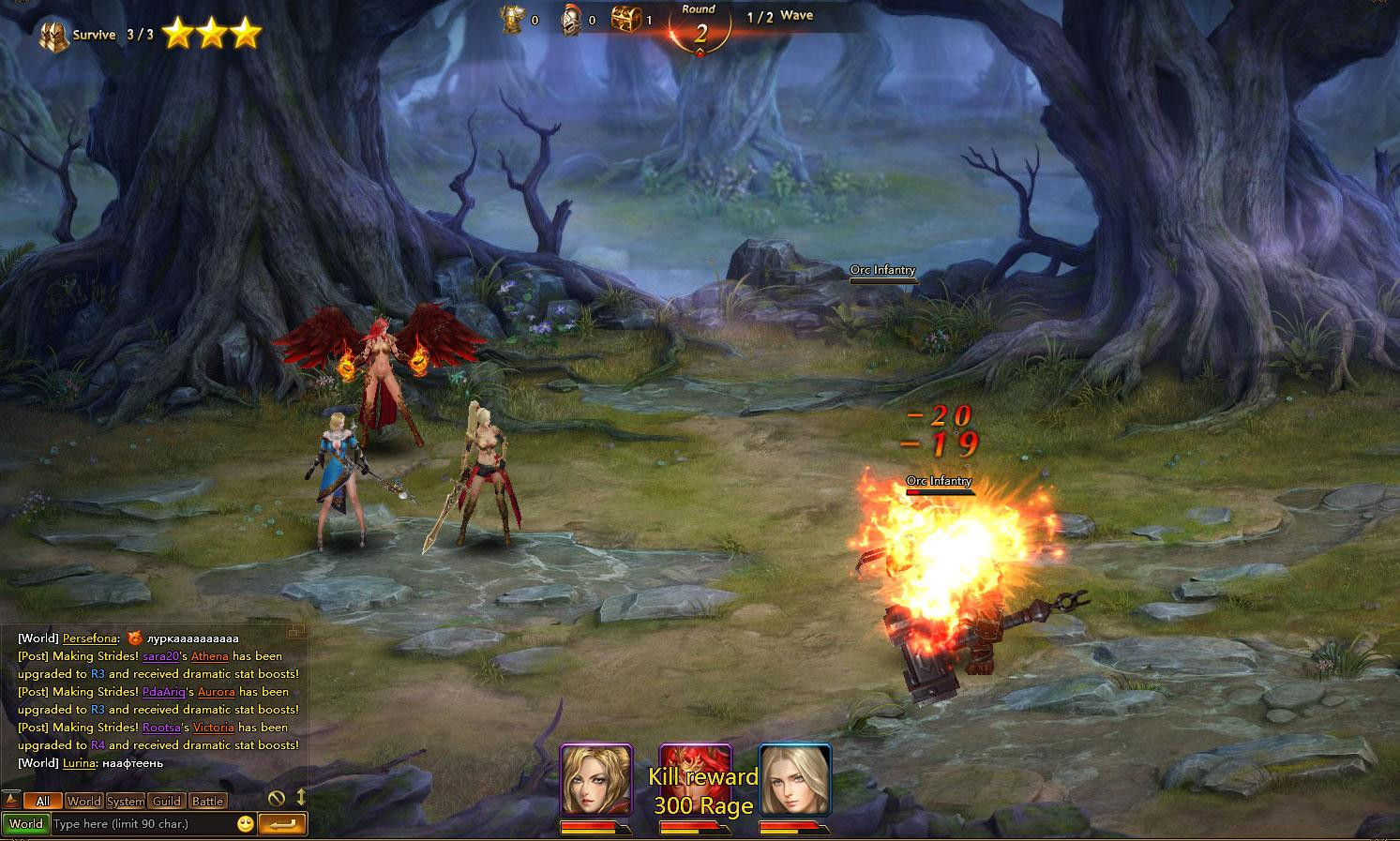 League of Angels 2 - MMO Square  League of Angel...