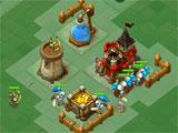 Attacking a base in Kingdom Glory
