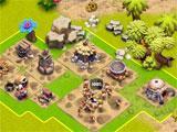 Age of Cavemen setting up the base