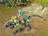 SA's Legend: Dark cheetah mount