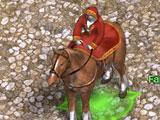 My horse mount in Fragoria