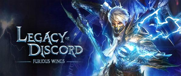 Legacy of Discord: Furious Wings - Take on the horde of relentless demons and the Demon Lord Auglu himself in this stunning MMORPG!