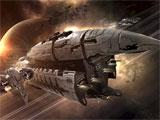 Eve Online breathtaking spaceship