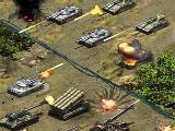 Tank battle in Steel Avengers