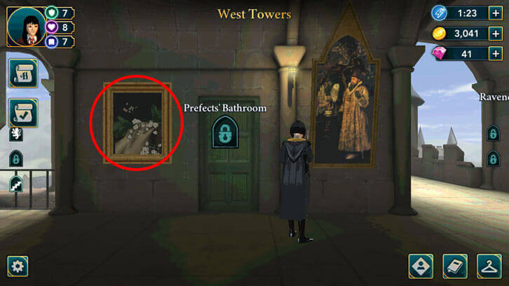 Free energy in the West Towers