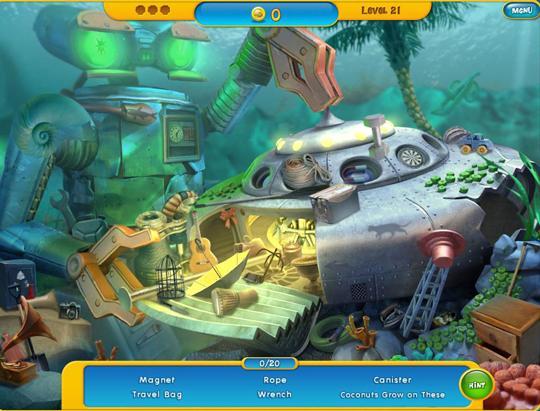 Aquascapes: Underwater UFO