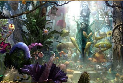 Explore the Gardens of Dark Manor