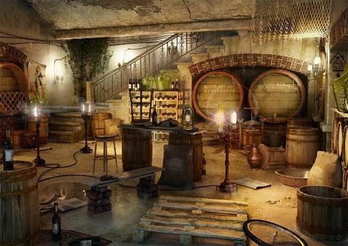 Wine Cellar in Rooms of Memory