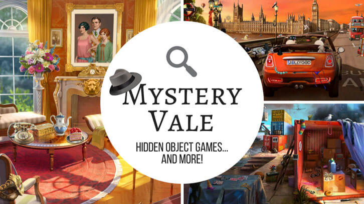 Hidden Object Games and More at Mystery Vale!