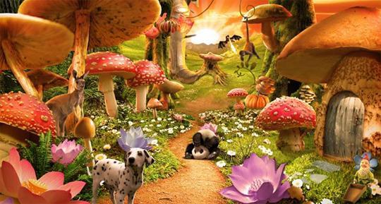 Mushroom Garden in Voyage of Fantasy