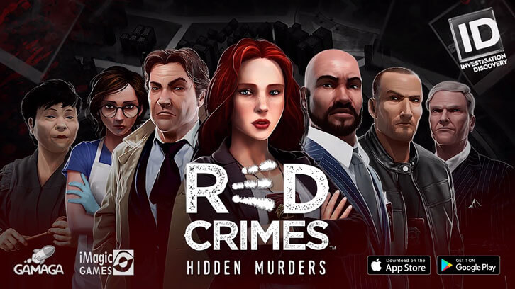 Red Crimes: Hidden Murders Launched for Investigation Discovery Worldwide