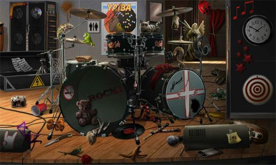 Drum Set in Criminal Case
