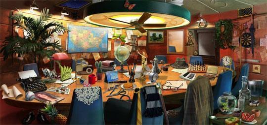 Boardroom in Pearl's Peril