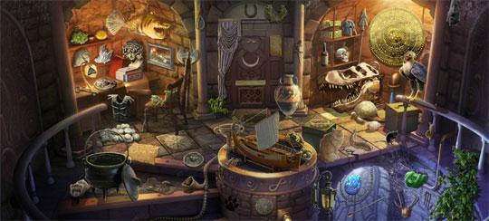 Spooky Island in Pearl's Peril