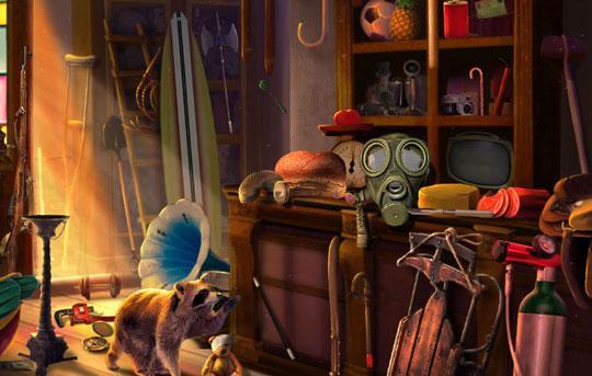 Store Room in Dark Manor