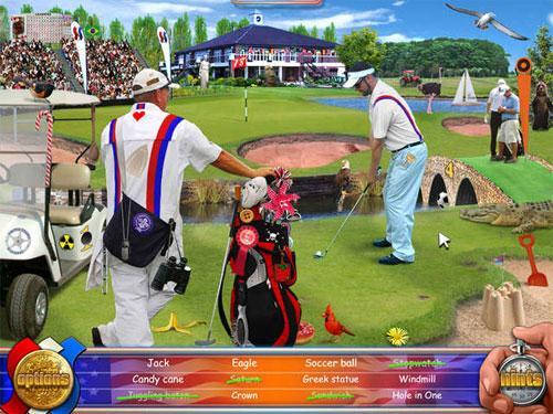 Golf in Summer Super Sports