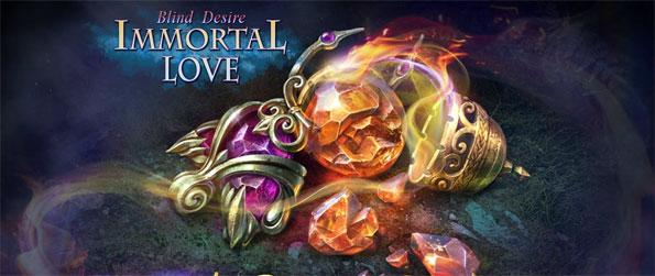 Immortal Love: Blind Desire - Play this engrossing hidden object game that'll take you on an adventure that very few are brave enough to embark on.
