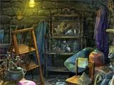 Grim Facade: The Message hidden object scene