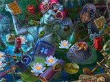 Immortal Love: Black Lotus hidden object scene