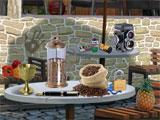 Cafe scene in Mystery Epic