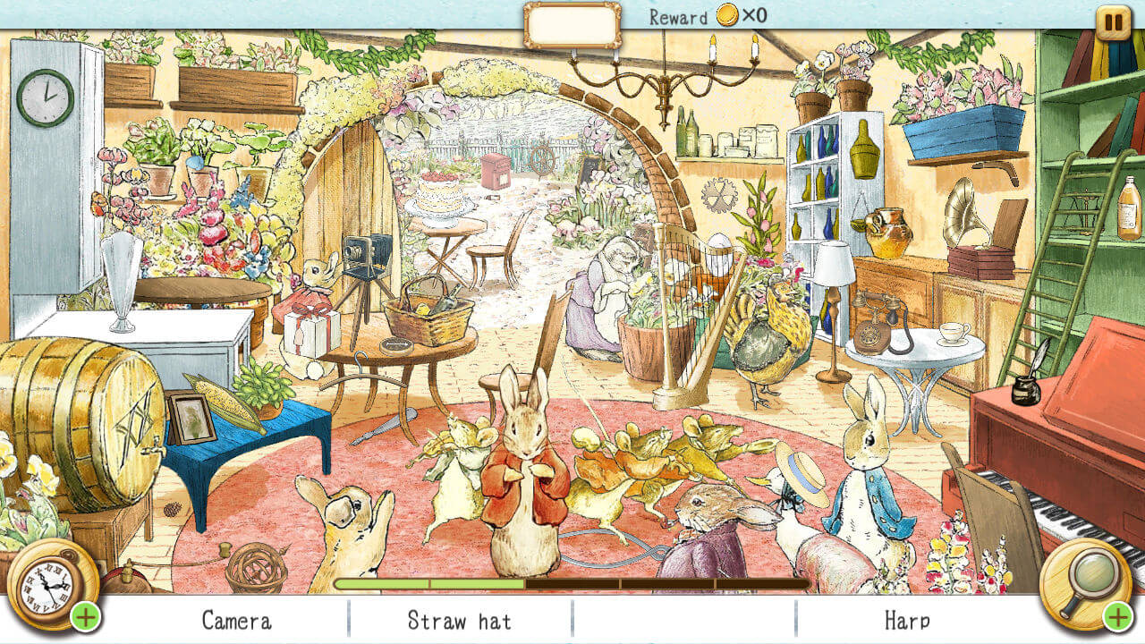 Peter Rabbit Hidden World Hidden Object Games