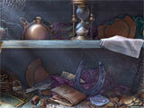 Dark Tales Edgar: Allen Poe's The Oval Portrait hidden object scene