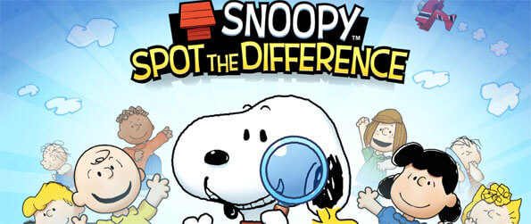 Snoopy Spot the Difference - Locate all the differences in this exciting puzzle game that doesn't disappoint.