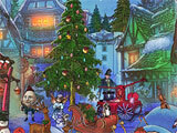 The Christmas Spirit: Mother Goose's Untold Tales story based scene