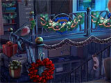 Yuletide Legends: Who Framed Santa Claus hidden object scene