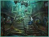 Dark Manor Stairs
