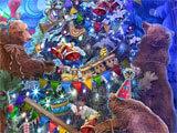 Christmas Stories: Enchanted Express hidden object scene