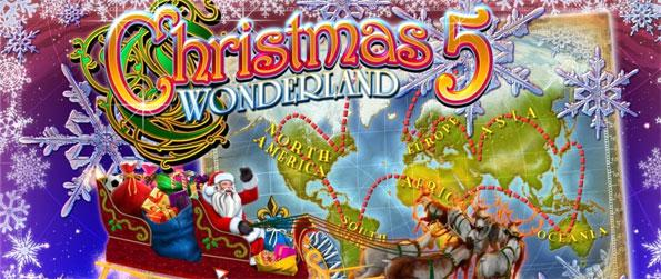 Christmas Wonderland 5 - Experience a brilliant hidden object game that perfectly captures the heart of a family Christmas.