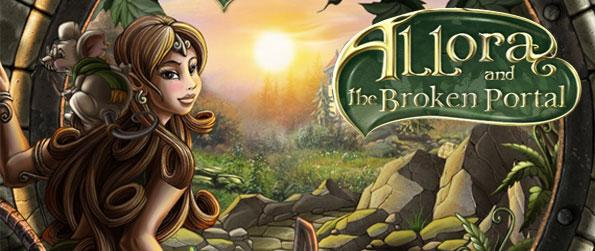 Allora and the Broken Portal - Help an elfin girl regain magical crystals to operate a portal in order to save a wizard trapped in time in this wonderful hidden object adventure.