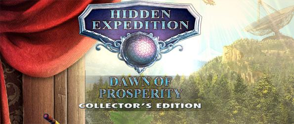 Hidden Expedition Dawn of Prospertity - Find out what's causing the mysterious tremors in a town in Montana.