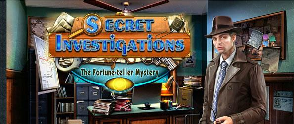 Secret Investigations: The Fortune Teller Mystery - Help Bruce investigate and solve the mystery of the stolen family jewels in Secret Investigations: The Fortune Teller Mystery